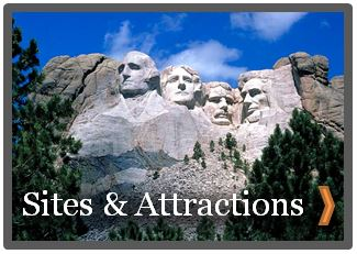 Newcastle wyoming sites and attractions mount rushmore