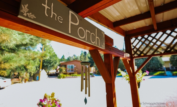 Pines Motel Porch