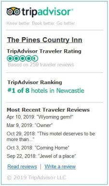 Trip Advisor Read Reviews