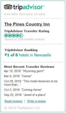 Trip Advisor Read Reviews